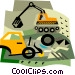 construction equipment Vector Clipart picture