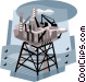 oil industry Vector Clip Art picture