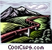 gas pipeline Vector Clipart graphic