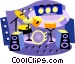 entertainment industry Vector Clip Art image
