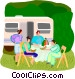 summer vacation Vector Clip Art picture