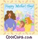 Happy Mother's Day Vector Clip Art picture