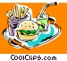 fast foods Vector Clipart picture