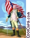 George Washington Vector Clipart graphic