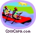water sports Vector Clipart illustration