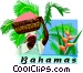 Bahamas Vector Clip Art picture