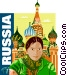Russia Vector Clip Art graphic