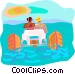 water sports Vector Clipart picture