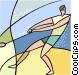 sports Vector Clipart illustration
