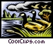 Canada geese Vector Clipart illustration