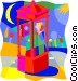 communications; phone Vector Clip Art image