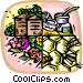 honey industry Vector Clipart picture