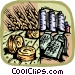 agricultural industry Vector Clip Art picture