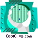 semiconductor Vector Clip Art image