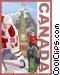 Canada postcard design Vector Clip Art image