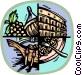 Italian themes Vector Clip Art image
