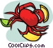 crab Vector Clipart graphic
