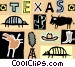 Texas Vector Clipart illustration