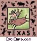 Texas Vector Clip Art image