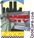 New York Vector Clipart image