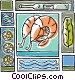 seafood Vector Clip Art image