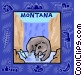 Montana Vector Clipart graphic