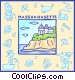 Massachusetts Vector Clipart illustration