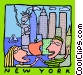 New York Vector Clipart picture