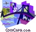 bridge Vector Clip Art picture