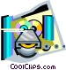 CD rom Vector Clip Art picture