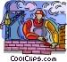 brick layer Vector Clip Art image