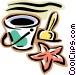 pail Vector Clip Art picture