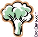 broccoli Vector Clipart illustration