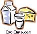 milk Vector Clip Art image