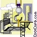 construction site Vector Clipart image