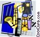 saxophone Vector Clip Art picture