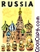 St. Basil's Cathedral Vector Clip Art image