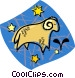 astrology sign Vector Clipart picture