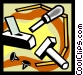 chisel Vector Clipart picture