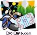 Sports motif Vector Clip Art image