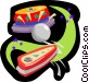 pinball Vector Clipart picture