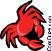 crab Vector Clip Art image