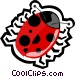 lady bug Vector Clipart image