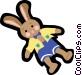 bunny rabbit Vector Clip Art image
