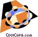 tambourine Vector Clipart graphic