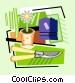 gardening Vector Clip Art image