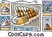 Greece pipes of pan Vector Clip Art picture