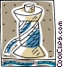 thread on spool Vector Clipart picture