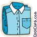 dress shirt Vector Clip Art picture