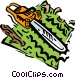 chainsaw Vector Clip Art picture